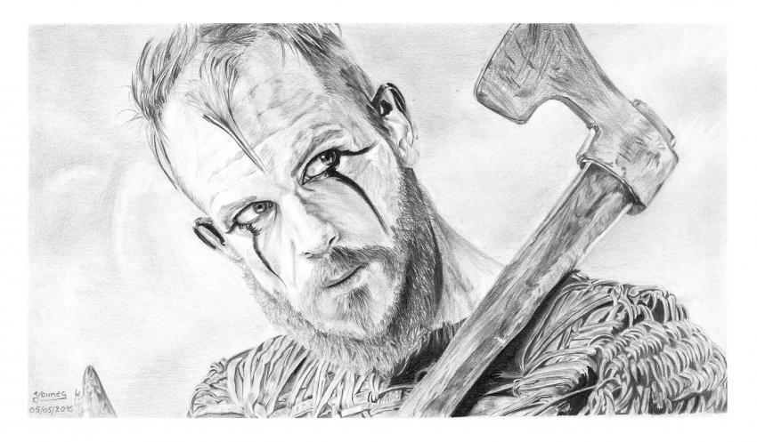 Gustaf Skarsgård por Yanis_dessin